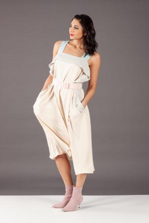 abito dress maryling 9c61100 rosa pink pastello