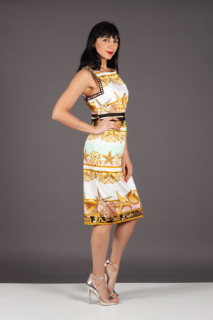 abito tubino dress vestito clips